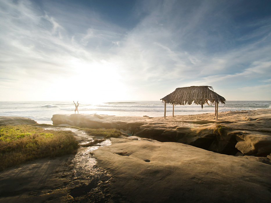 Prettiest Beaches in Southern California Windandsea Beach
