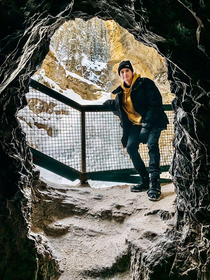 Johnston Canyon Cave