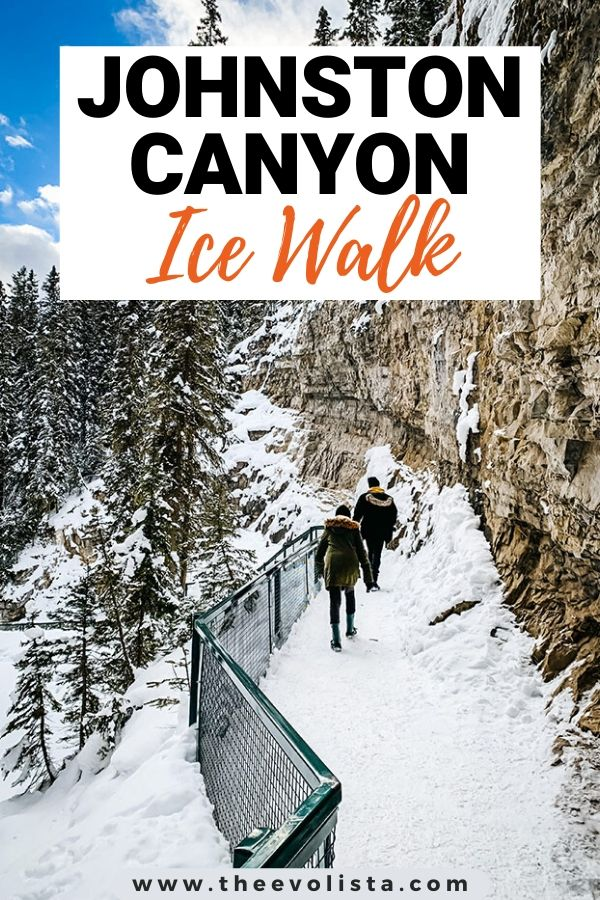 Johnston Canyon Ice Walk Pin