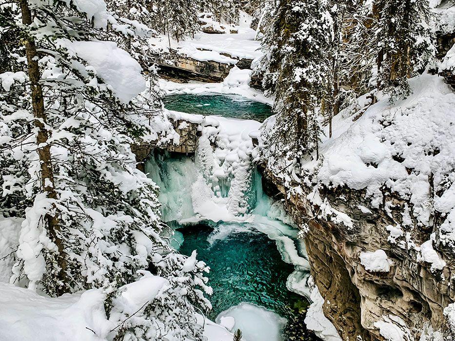 Johnston Canyon Smaller Waterfalls