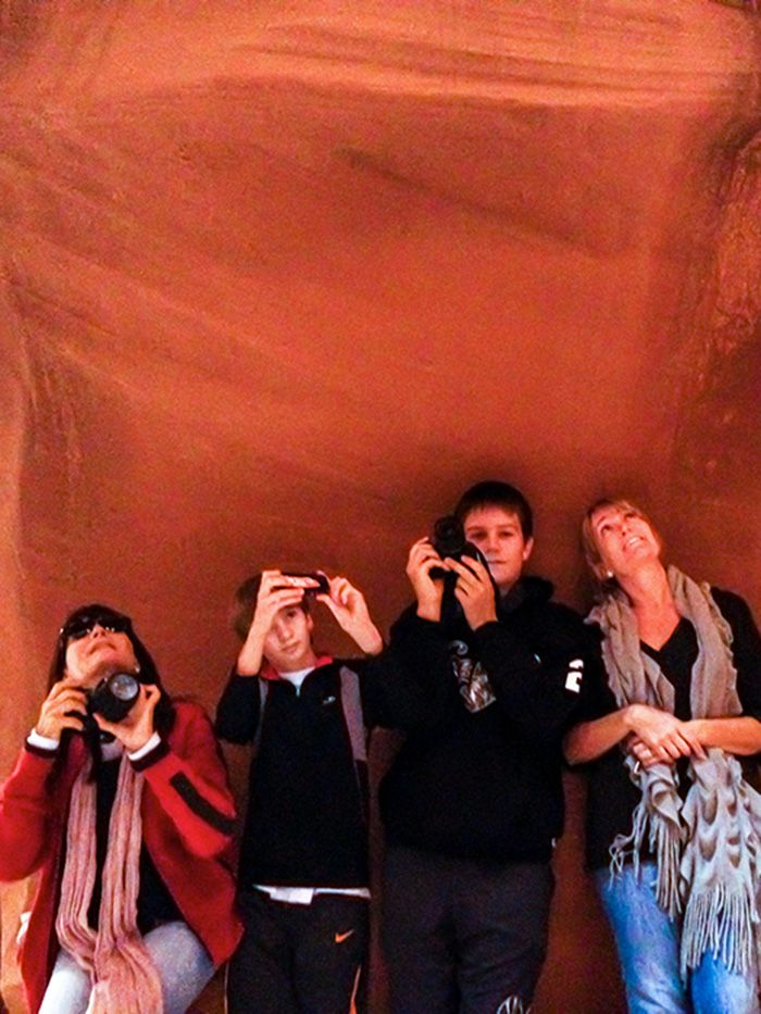 Our Antelope Canyon Group