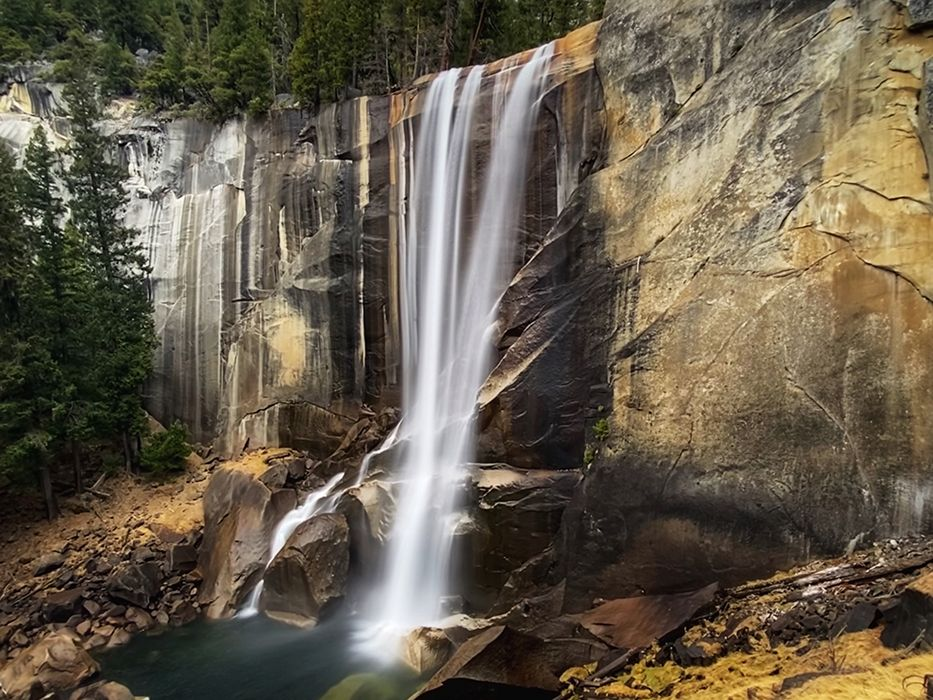 2 Days in Yosemite Itinerary Vernal Falls