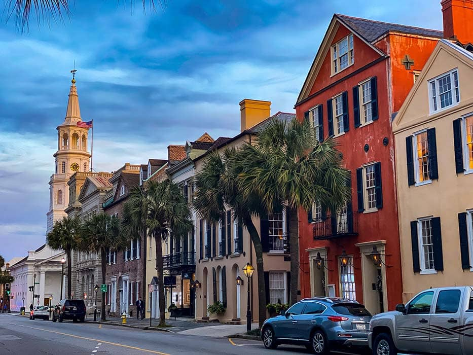 Best Places to Travel in November Charleston