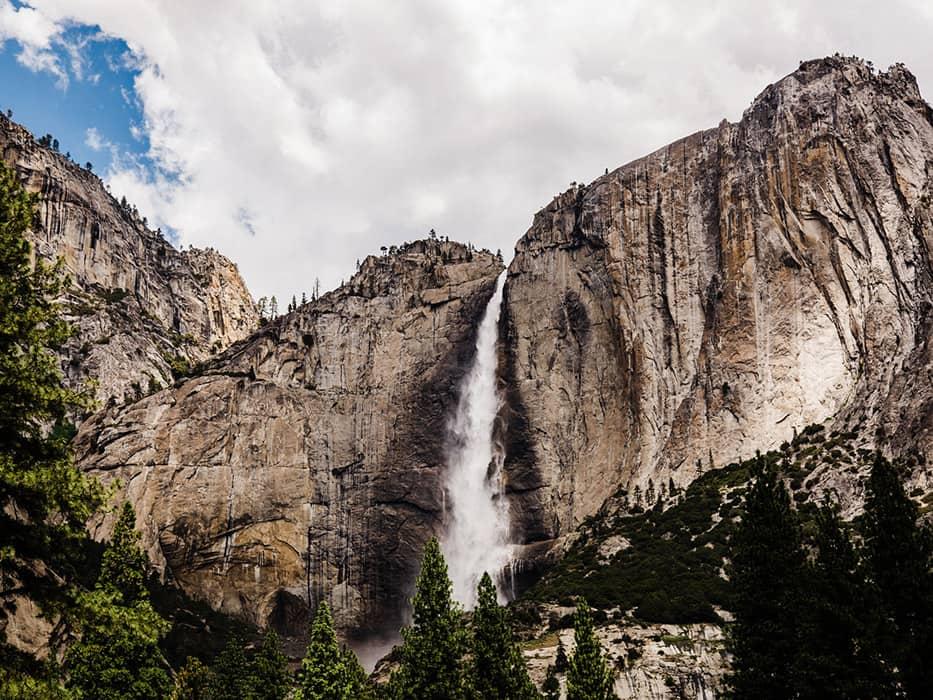 Yosemite Itinerary Bridalveil Falls