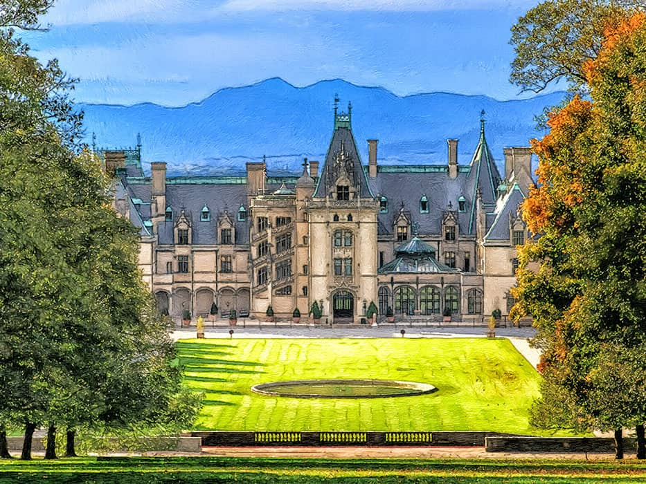 Biltmore Asheville in December