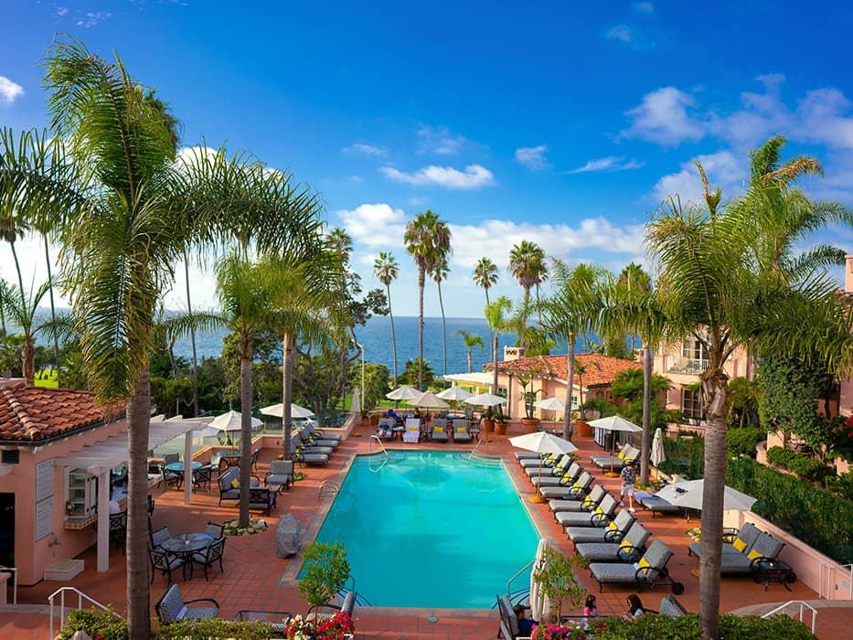La Jolla California in December