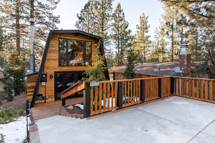 Decked Out Mountain Cabin