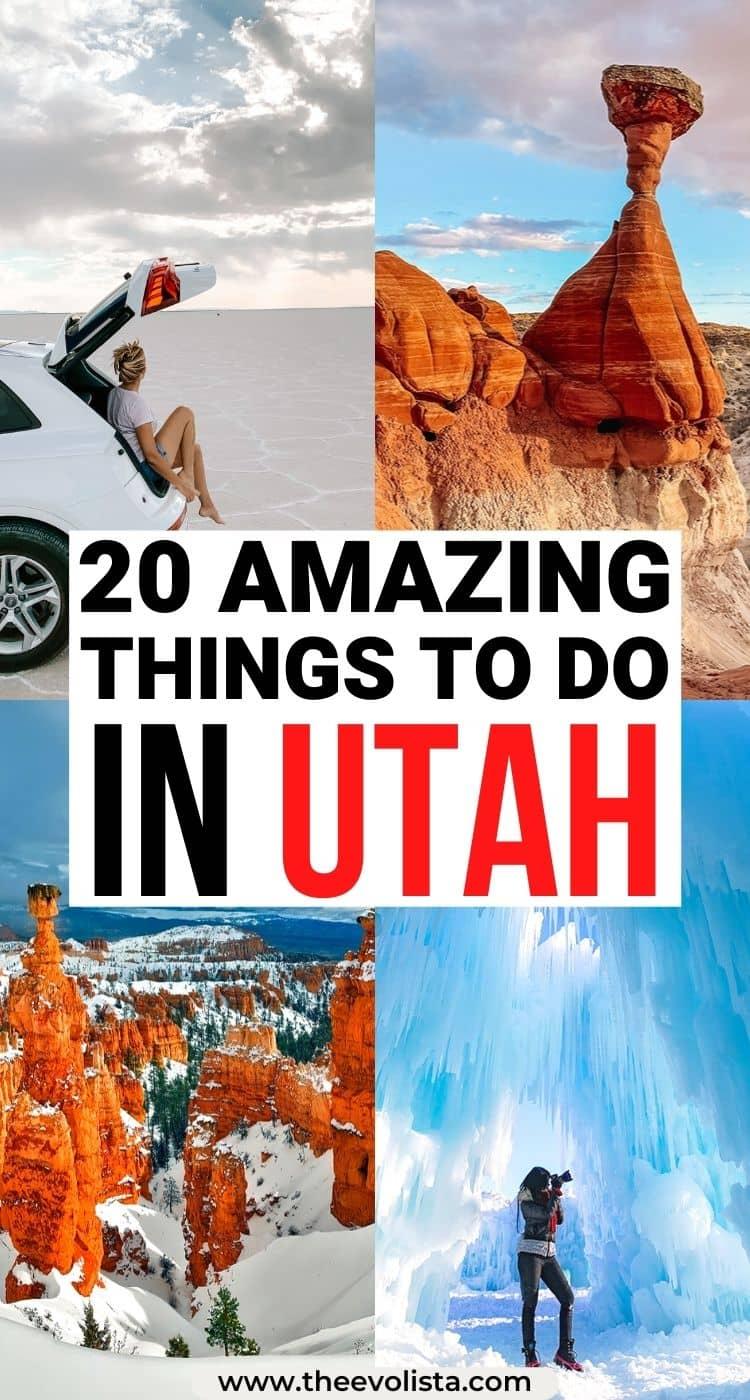 Best Places to Visit in Utah Pin