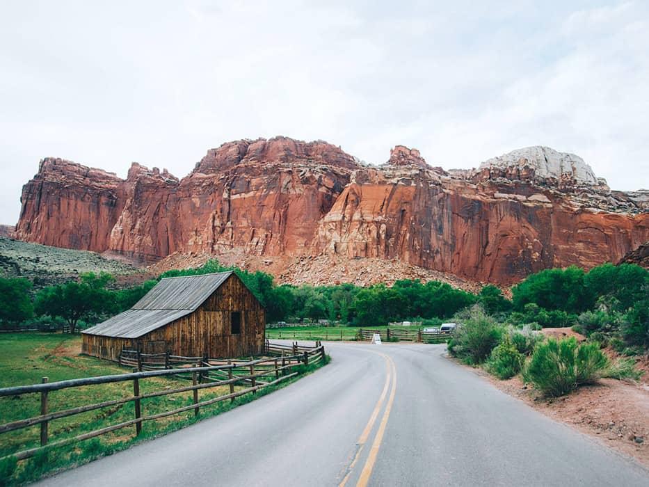 Capitol Reef National Park Utah