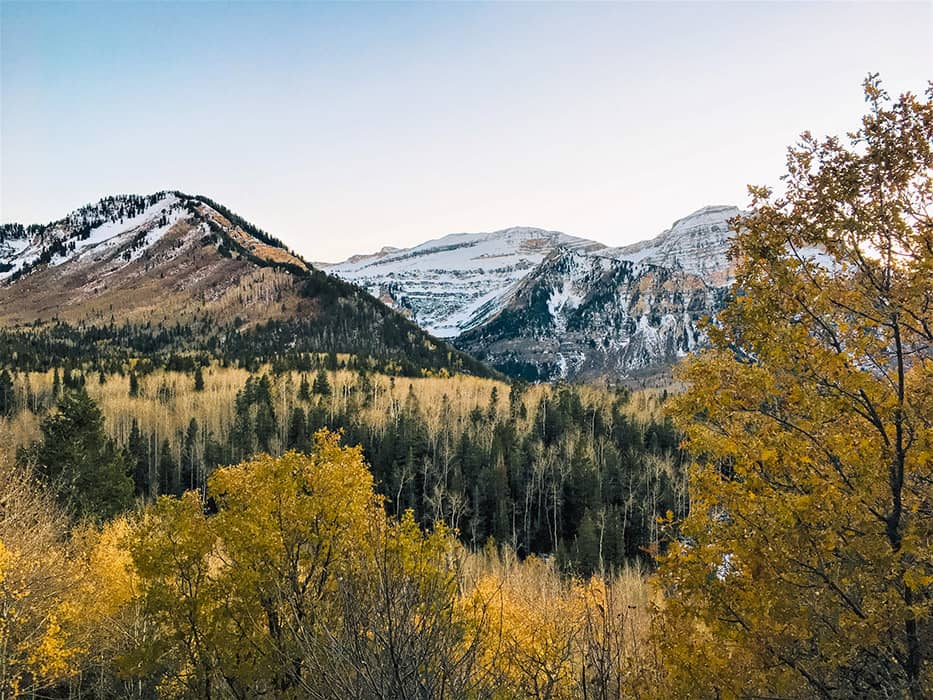 Mount Timpanogos Alpine Loop Utah
