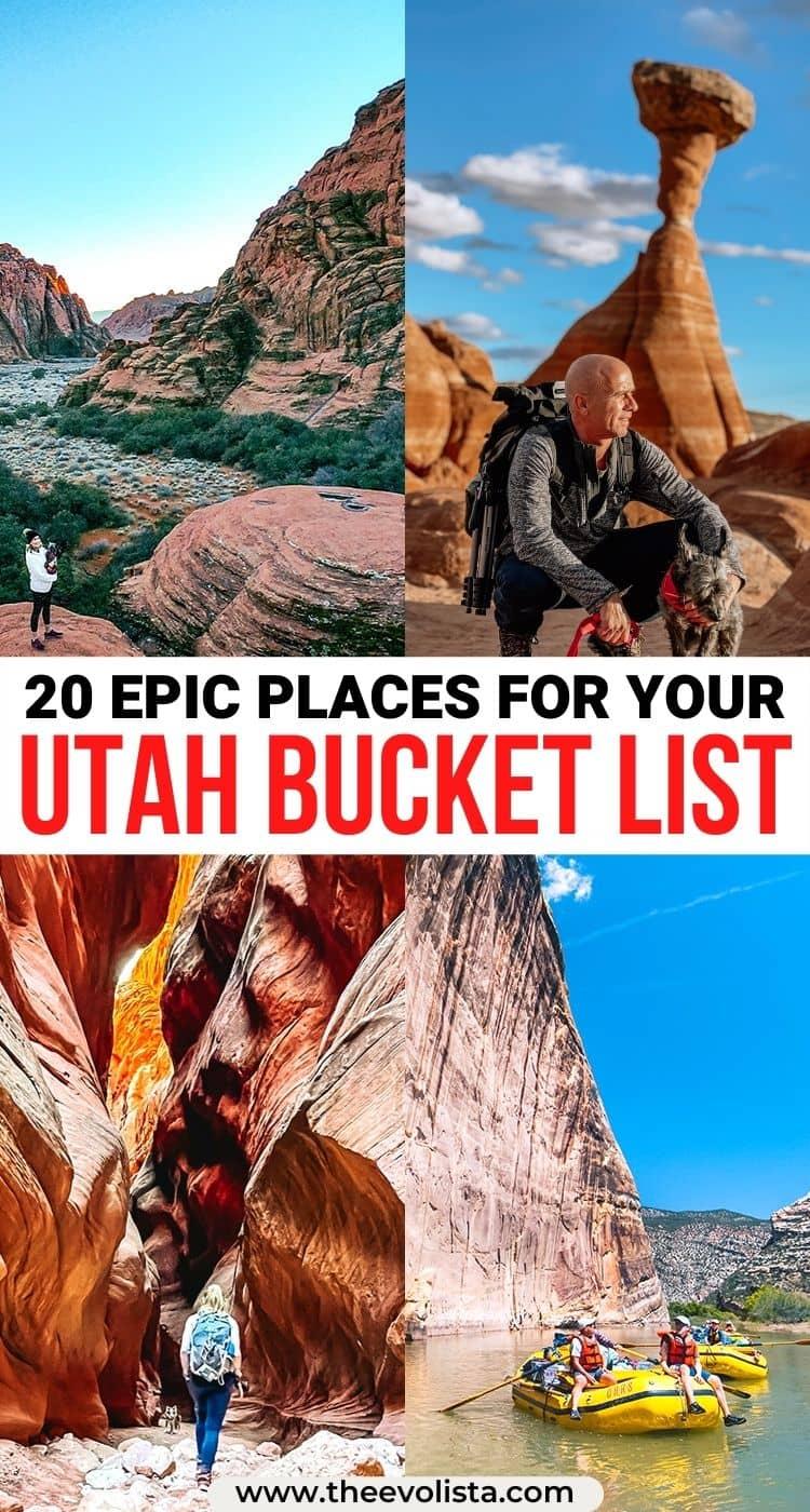 Utah Bucket List Pin