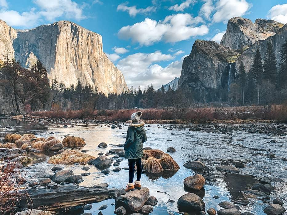 Yosemite in Winter Valley Floor