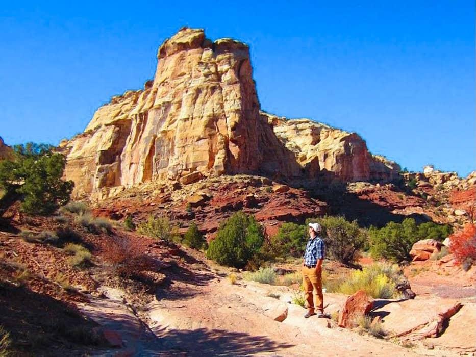 San Rafael Swell Hiking Utah