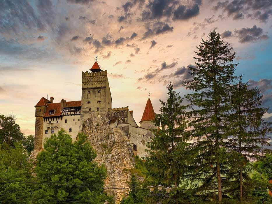 Dracula Castle Transylvania Europe Bucket List