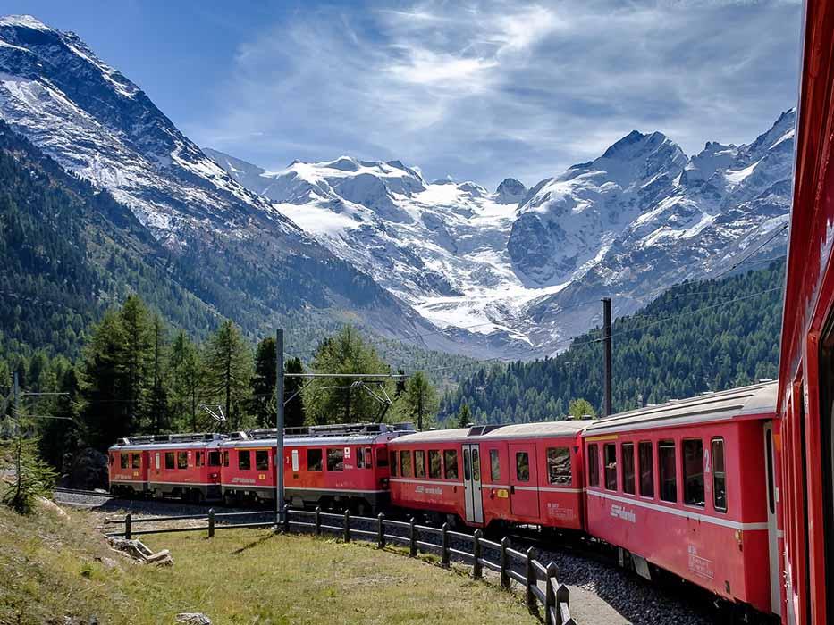Switzerland Train Trips Europe Bucket List