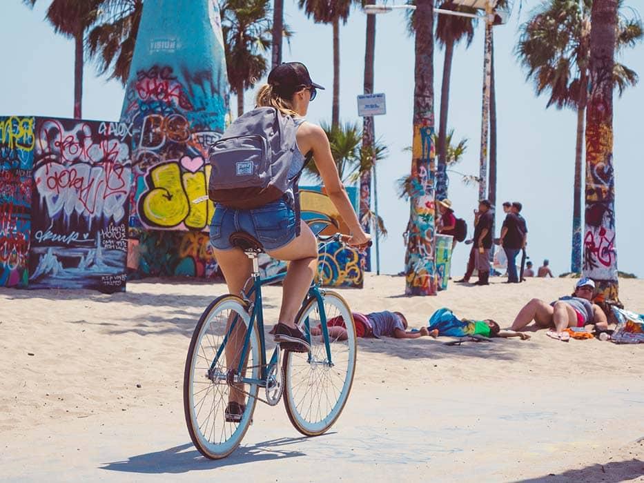 Visiting Los Angeles Venice Beach