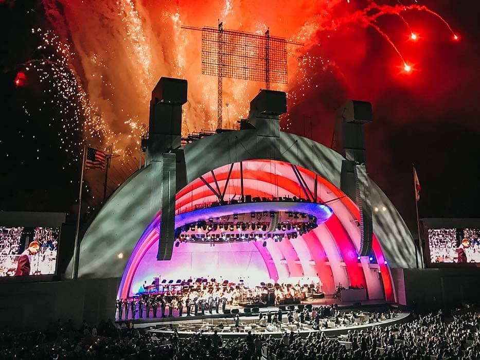 Visiting Los Angeles Hollywood Bowl