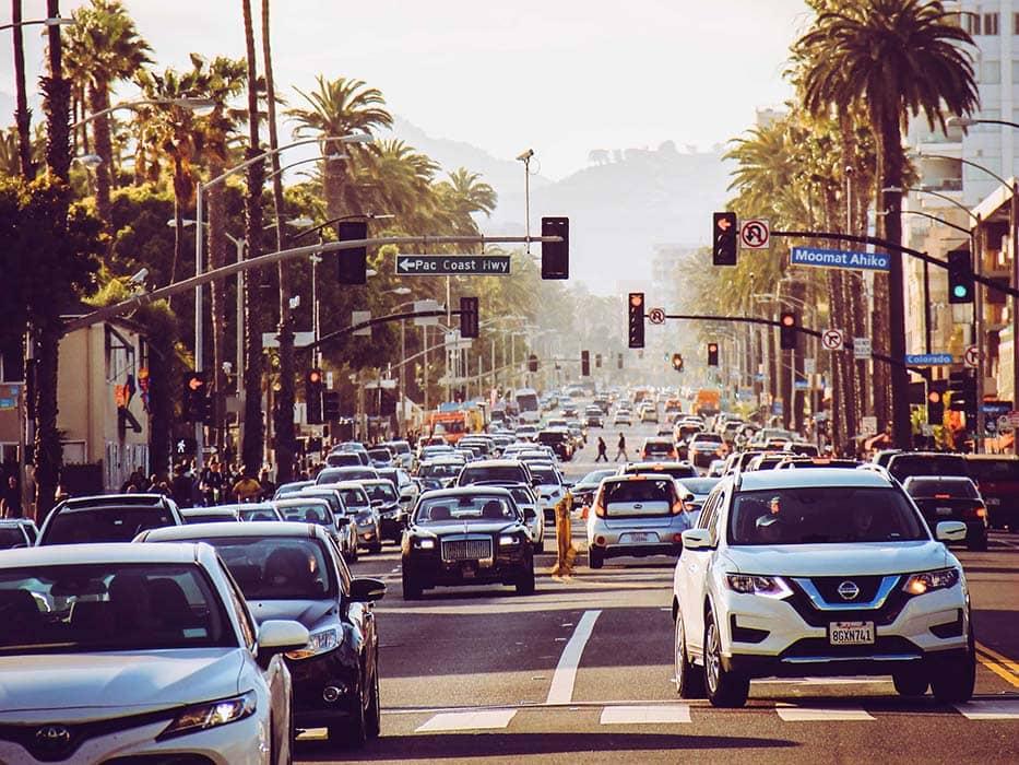 Visiting Los Angeles Traffic
