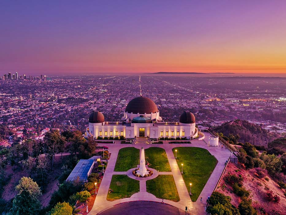 Griffith Park Scenic Drives in Los Angeles