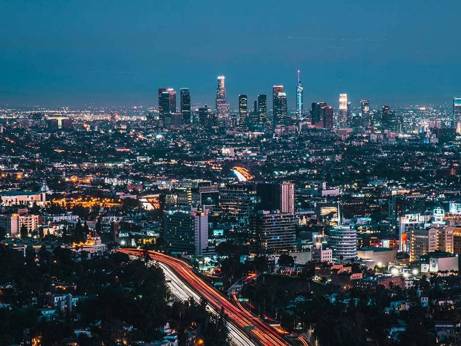 Mulholland Hollywood Bowl Overlook