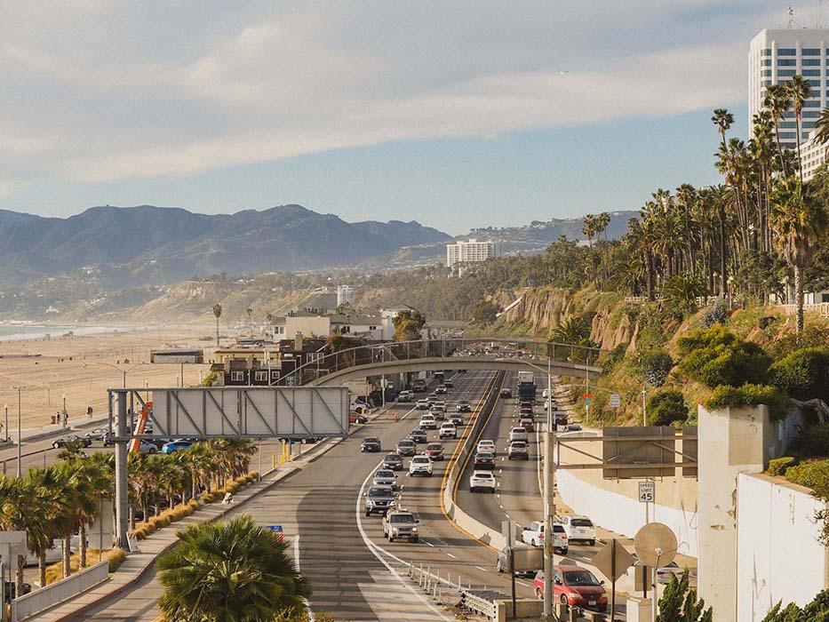 PCH Scenic Drives in LA